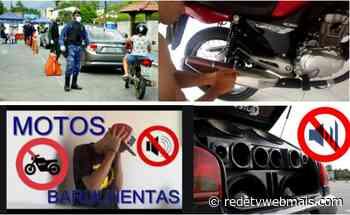 Choque de Ordem em Guapimirim. Lei municipal proíbe emissão de ruídos excessivos em escapamentos de veículos - Rede Tv Mais