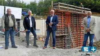 Kreuztal: Stadt und Wasserverband errichten Hochbehälter - Westfalenpost