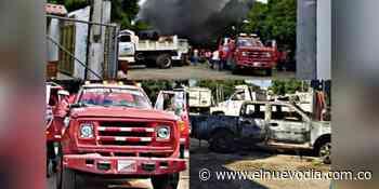 Investigan el incendio de tres carros de la Alcaldía de Guamo - El Nuevo Dia (Colombia)
