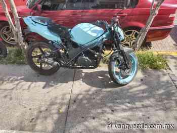 Recuperan motocicleta con reporte de robo en colonia Bellavista de Saltillo - Vanguardia MX