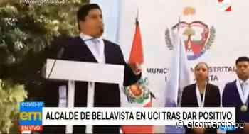 Callao: alcalde de Bellavista es internado en UCI debido al COVID-19 - El Comercio Perú