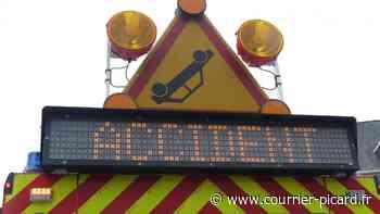 Une voiture renverse une moto sur la RD1016 à Gouvieux - Courrier Picard