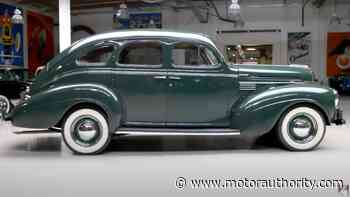 Johnny Carson's 1939 Chrysler Royal takes the stage on Jay Leno's Garage - Motor Authority