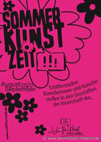 SommerKunstZeit in der Innenstadt - Schifferstadt - Wochenblatt-Reporter