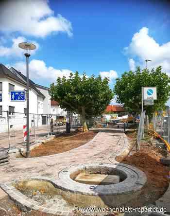 Der Kreuzplatz nimmt Form an - Schifferstadt - Wochenblatt-Reporter