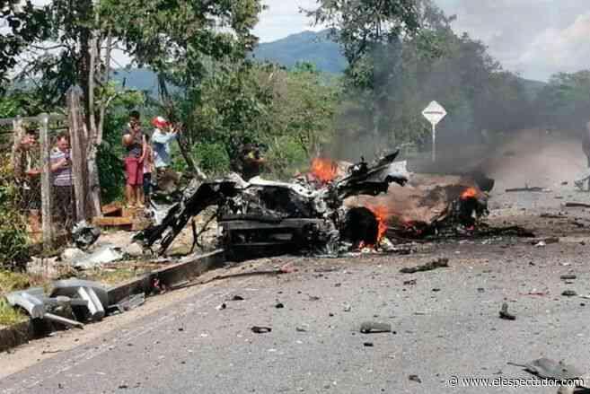 Reportan carrobomba a pocos metros de base militar en Cubará, Boyacá - ElEspectador.com
