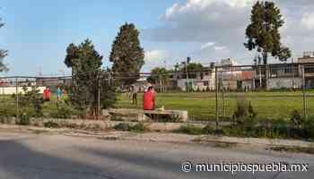 Les vale la pandemia, siguen partidos de fútbol y palenque en Atoyatenco - Municipios Puebla