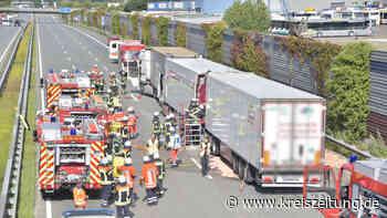 A1-Sperrung nach schwerem Unfall zwischen Elsdorf und Sittensen - ein Toter - kreiszeitung.de