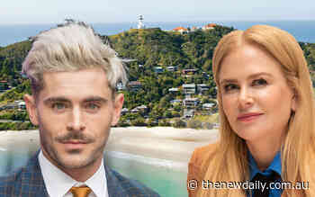 Tinseltown 2.0: Byron Bay becoming a hotspot for Hollywood big shots - The New Daily