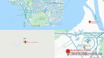 Google Maps: Easter Egg bringt Meerjungfrau, UFO und die Queen - netzwelt