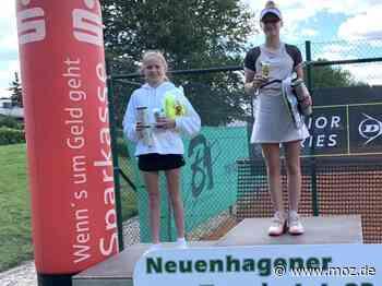 Tennis: Tennis-Nachwuchs überzeugt bei Neuenhagen Open - Märkische Onlinezeitung