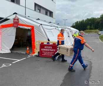 Seine-et-Marne. Le centre de dépistage de l'hôpital de Melun repasse en mode piéton - actu.fr