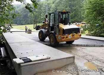 Alte Brücke wird gestärkt - Kenzingen - Badische Zeitung