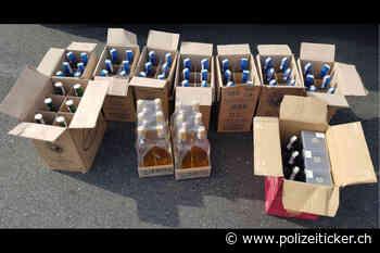 Dettelbach / Schlüsselfeld – Zollkontrolleinheit auch sonntags wachsam – 7.200 Zigaretten und 65 Liter Spirituosen sichergestellt - Polizeiticker.ch