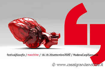 Festivalfilosofia 2020: intelligenze umane e artificiali dal 18 al 20 settembre - Casalgrande Notizie