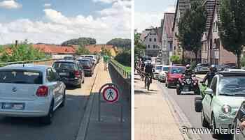 Verkehrschaos in Neckartailfingen - Riesenandrang am Aileswasensee - Nürtinger Zeitung