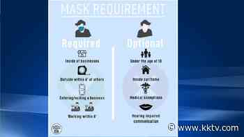 Fine for 'disturbances' tied to not wearing a mask in Manitou Springs is $25 for first-time offenders in new emergency order - KKTV