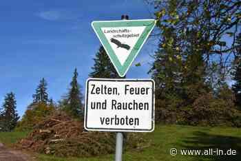 Grillpartys im Naturschutzgebiet: Polizei erwischt erneut Wildcamper bei Bad Hindelang - Bad Hindelang - all-in.de - Das Allgäu Online!