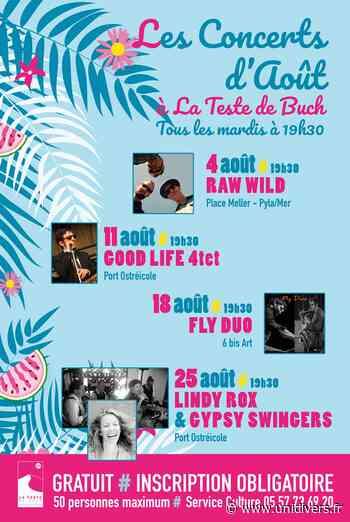 Concert Good Life 4tet mardi 11 août 2020 - Unidivers