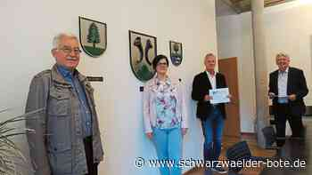 Hornberg - Hornberg freut sich über Förderung - Schwarzwälder Bote