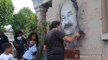 L'artiste C215 réalise l'ultime hommage au docteur Razafindranazy de Soissons - L'Union