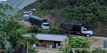 Empezar una vez más: excombatientes salen de Ituango a Mutatá por inseguridad - Semana Rural