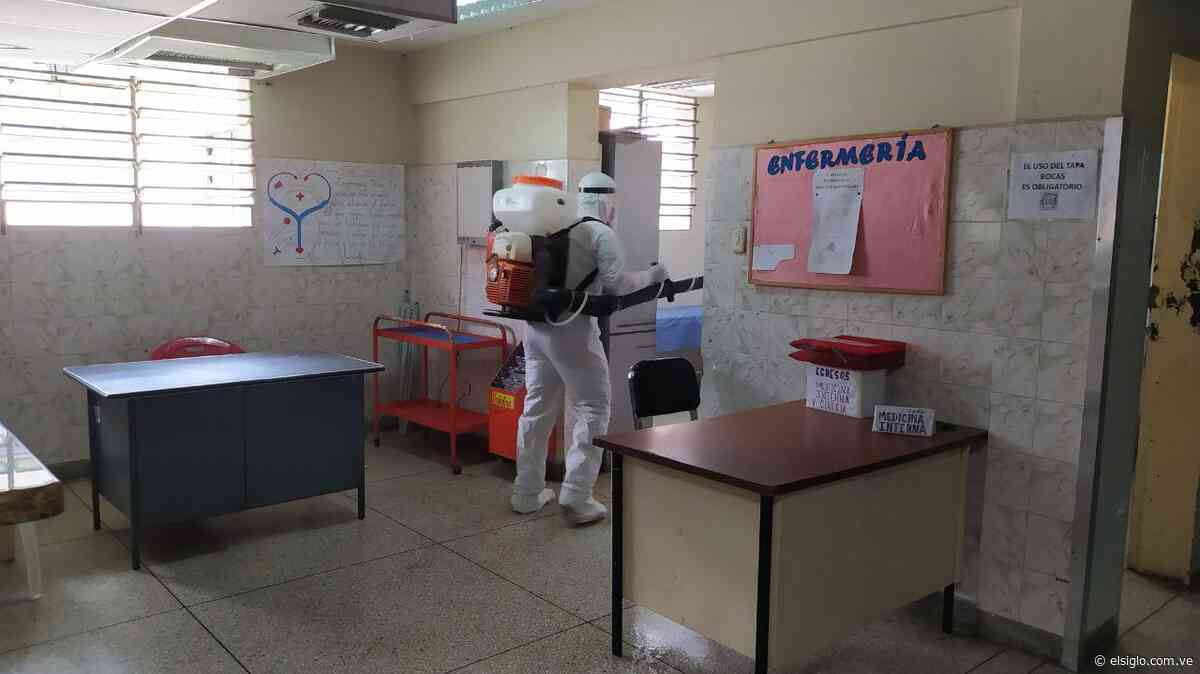 Desinfectado el Hospital José María Vargas de Cagua - Diario El Siglo