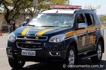 Condutor com revólver é detido pela PRF em Pontes e Lacerda/MT - O Documento