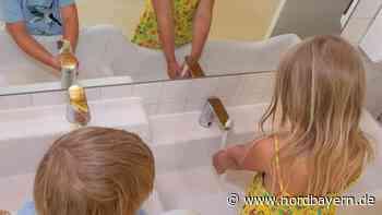 Im neuen Kindergarten: Kautschukboden für Sanitärbereich - Nordbayern.de