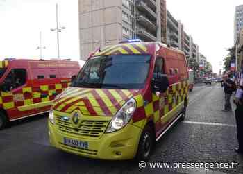 LA CIOTAT : Accident entre deux véhicules légers, renfort des sapeurs-pompiers du Var - La lettre économique et politique de PACA - Presse Agence