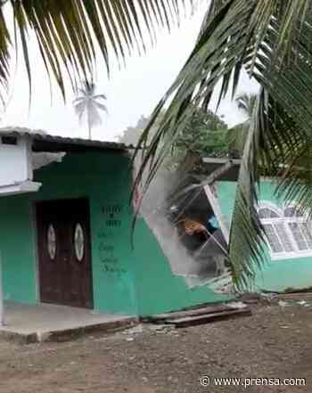 Colapsa iglesia en Palenque, provincia de Colón - La Prensa Panamá