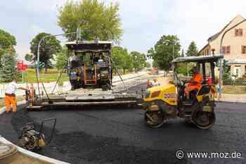 Bauarbeiten: Wiesenstraße in Dahlwitz-Hoppegarten wird früher fertig als geplant - Märkische Onlinezeitung