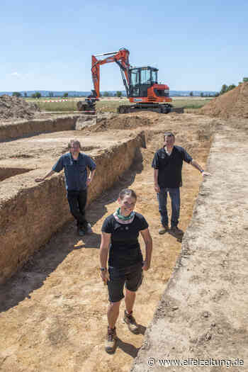 Einzigartige archäologische Anlage in Swisttal-Ollheim entdeckt - Eifel - Zeitung - Eifel Zeitung