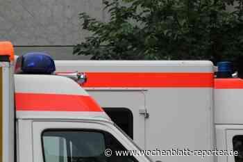 Abbremsenden Pkw zu spät gesehen: Rollerfahrer bei Sturz leicht verletzt - Wochenblatt-Reporter