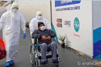 ¡Regreso a casa! Septuagenario exalcalde de Quilmaná venció al covid-19 - Agencia Andina