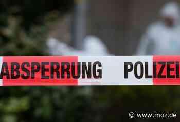 Polizei: Tote Frau in Wandlitz geborgen - Märkische Onlinezeitung