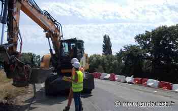 Biganos : la stabilité du pont surplombant la voie ferrée va être renforcée - Sud Ouest