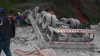 Acidente com morte na rodovia ES 165, em Afonso Claudio - ESHOJE - ES Hoje