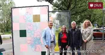 Tettnang hat zwei neue Freiluft-Kunstwerke - Schwäbische