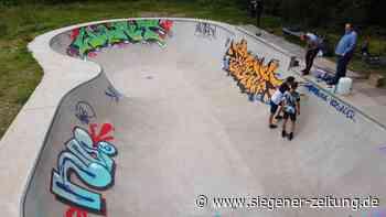 Sprayer beschädigen Skatepool: Graffiti erhöht Unfallrisiko - Wilnsdorf - Siegener Zeitung
