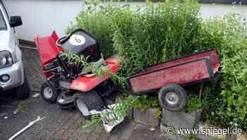 Wilnsdorf bei Siegen: Junge stirbt bei Unfall mit Rasenmäher-Traktor - DER SPIEGEL