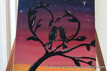Lumby art shows heart beyond the mask – Vernon Morning Star - Vernon Morning Star