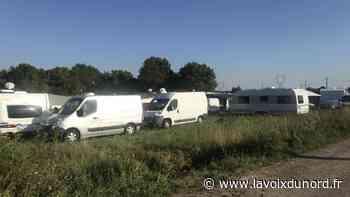 Des gens du voyage ont investi des terrains, à Santes et Haubourdin - La Voix du Nord