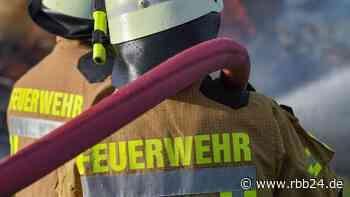 Gartenbesitzer stirbt nach Laubenbrand in Lauchhammer - rbb24