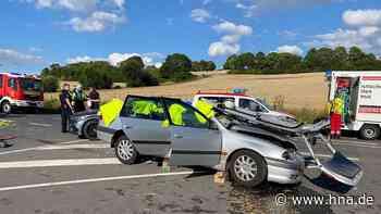 Unfall auf B 445 bei Bad Gandersheim: Drei Verletzte - HNA.de