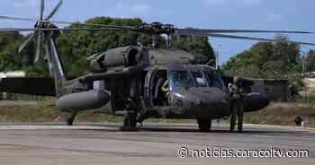 Desapareció un helicóptero militar que volaba entre San José del Guaviare y Mitú - Noticias Caracol