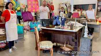 Porto-Vecchio : succès au rendez-vous pour la recyclerie Dinò - Corse-Matin