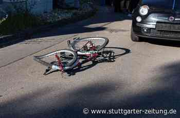 Unfall in Zaberfeld - Elfjährige Radfahrerin von Auto erfasst und schwer verletzt - Stuttgarter Zeitung