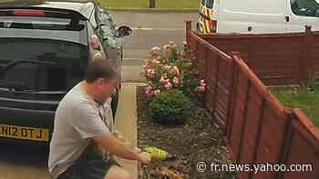 Ce bricoleur maladroit brise la vitre de sa voiture avec une perceuse - Yahoo Actualités