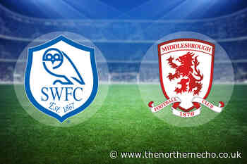 LIVE: Sheffield Wednesday 1 Middlesbrough 0
